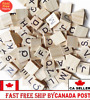 Alphabets set 100 pcs tiles wooden