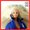 Barbie doll in the dress blond