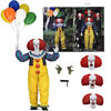 Neca it pennywise clown ultimate 7