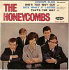 Disque 45t the honeycombs pnv 24126