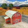 N scale building barn coverstock