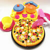 9pcs children kids pizza cutting