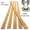 Midwest cork road bed box of 25