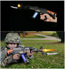 Light up machine gun military kids