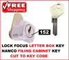 1x letter box key or filing cabinet