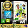 Wii game nickelodeon fit g fitness
