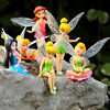 6pcs tinker bell fairies cake