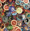 Pogs lot x500 variety assorted milk