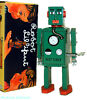 Schylling wind up tin toy green
