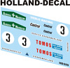Decals 1000 tcr veblo racing scale