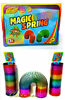 2 x 15cm large rainbow magic spring