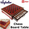 Au wooden chess board table games