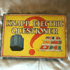 Electric questioner wooden hinged