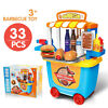 Pretend play set toys bbq grill for