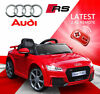 Audi rs licensed kids ride on car