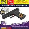 Manual g17 gel ball blaster toy