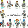 10pcs marvel avengers super hero