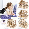 Marble run game diy waterwheel