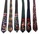 Mens Christmas XMAS Novelty Ties Work Office Fancy Dress Party Santa Neck Tie