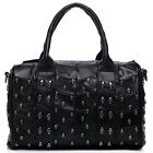 "Thompson Luxury Bags ""Misty"" Skull Bowling Bag, Handtasche, echt Schafleder 149€"