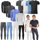 Mens Thermal Underwear Long John T Shirt Top & Pants Set Baselayer S Up to 5XL
