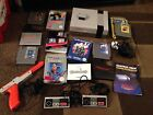 NES Nintendo With Games And Controllers