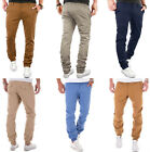 MERISH Herren Joggchino Regular & Chino Slim Fit W29 - W38 Hose L32 NEU 66 + 68
