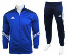Adidas Full Mens Zip Tracksuit Jogging Top Bottoms 3 Stripe Joggers Size S - XXL