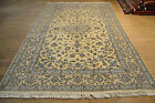 BEST QUALITY PERSIAN HAND-KNOTTED CARPET NAIN WOOL WITH SILK SIZE:299 X 198 CM