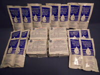 SPECIAL SOS EMERGENCY FOOD AND WATER RATIONS FOR EMERGENCY DISASTER KIT 24 meals