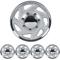 4 Set Hubcaps for Ford E-150 250 350 Truck Van 16