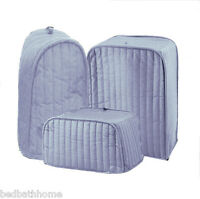 Ritz Quilted Solid Light Blue Appliance Cover RITZ Polyester / Cotton Quilted