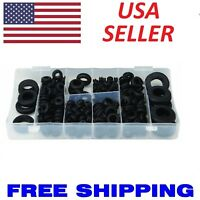 180 PC ASSORTMENT RUBBER GROMMET KIT SET FIREWALL HOLE WIRE WIRING ELECTRICAL
