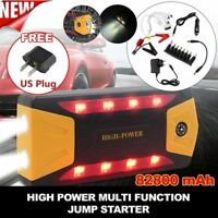 82800mAh Car Jump Starter Portable Power Bank Booster Charger Battery LED SOS UK