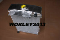 3 core aluminum radiator for AUSTIN HEALEY 3000 1959-1967 manual