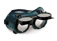NEW - Flip-Up WELDING Safety GOGGLES - Comfort-Fit - Shade 5 Torch