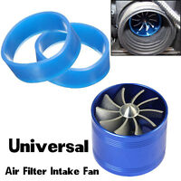 Car SUV Supercharger Turbine Turbo Charger Booster Air Intake Fan Fuel Gas Saver