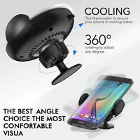 1x Wireless Charging Dock Charger Car Dash Air Vent Mount Holder Stand For Phone