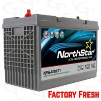Northstar AGM31 Battery Car Audio FACTORY FRESH