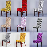 Chair Stretch Cover Dining Room Seat Cover Home Supplies Party Decor Spandex