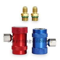 2pcs R1234yf Quick Connector Refrigerant Air Conditioning Adapter US