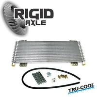 Tru-Cool Max 40,000 40K GVW Transmission Fluid Oil Cooler Heavy Duty and Towing