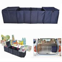 Collapsible Car SUV Trunk Organizer Bag Folding Food Storage Cargo Box Insulated