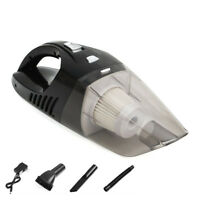 Cordless Car Vacuum Cleaner Wet+Dry Rechargeable Interior Cleaning Tool 120W NEW