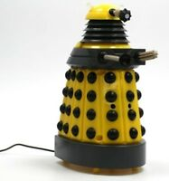 Doctor Who DALEK DESKTOP PATROL yellow BBC licensed SOUND EFFECTS moves