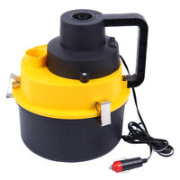 12V 60W Wet / Dry Vac Vacuum Cleaner Inflator Portable Handheld Turbo For Car
