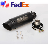 USA 36-51mm Universal Race Motorcycle Exhaust Pipe Retrofit for Honda Ducati KTM