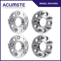 4PCS 15MM HUB CENTRIC Wheel Spacers Adapters 5x114.3 64.1mm CB For HONDA ACURA