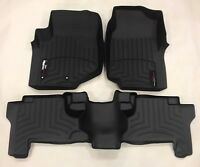 WeatherTech Custom Car/Truck Floor Mat FloorLiner 440071 - 440072 Front and Rear