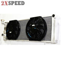 Fit 91-01 Jeep Cherokee 4.0L I6 OHV 3 Core Performance RADIATOR + 10